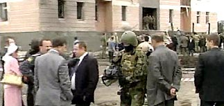 Взрыв здания ФСБ Ингушетии - 6 погибли, около 25 ранены