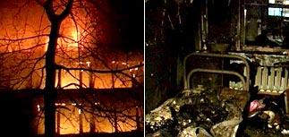 В РУДН причиной пожара в общежитии считают взрыв