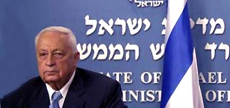 Шарон объявил о плане отделения от палестинцев