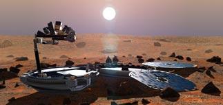 Mars-Express не смог найти пропавший Beagle-2