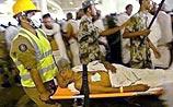 Давка в долине Мина - погибли 244 паломника