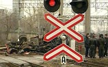 Под Омском поезд столкнулся с микроавтобусом. 9 погибших