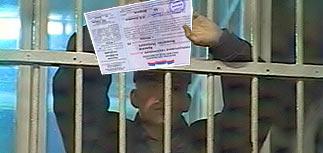 В СИЗО не сажают без талона на выборы президента
