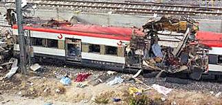 В Мадриде взорвались 13 бомб - взорваны 4 поезда: 190 погибли, 1250 раненых