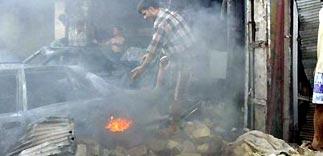 Камикадзе подорвал машины с иностранцами в Ираке (ФОТО)