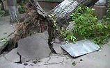 На Иркутск обрушился мощный ураган. Рассказы очевидцев. ФОТО