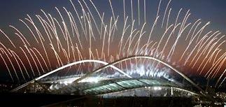 В Афинах проходит церемония открытия Олимпиады