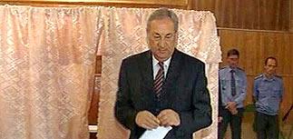 На выборах президента Абхазии лидирует Багапш