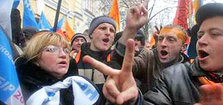 Кучма предложил провести новые выборы