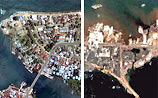 Цунами стерло с лица земли несколько городов (ФОТО)