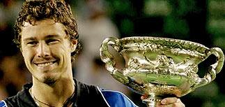 Марат Сафин - триумфатор Australian Open