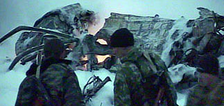 Ми-8, упавший в Чечне, возможно, был сбит