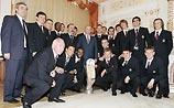Путин поздравил ЦСКА с победой в Кубке УЕФА
