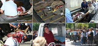 В метро Баку рухнул эскалатор - есть жертвы
