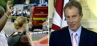 Новые взрывы в Лондоне