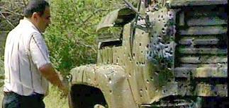 В Махачкале взорваны 3 грузовика с 34 бойцами спецназа