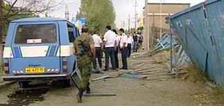Теракт в Махачкале - погибли милиционеры