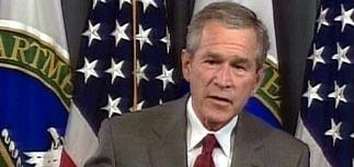 Буш призвал американцев меньше ездить на машинах