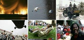 В Новом Орлеане - взрывы, убийства и изнасилования