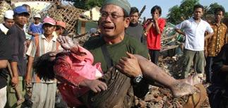 Землетрясение в Индонезии - более четырех тысяч погибших