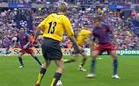 """Лига чемпионов: """"Барселона"""" - """"Арсенал"""" 0:1. Перерыв. Удален Леманн"""