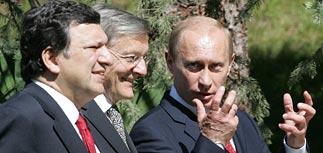 На саммите РФ-ЕС в Сочи Путин дал отповедь Чейни