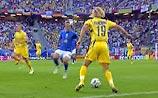 ЧМ-2006. 1/4 финала. Италия - Украина 1:0. Идет 1-й тайм