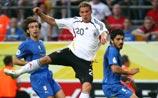 ЧМ-2006. Полуфинал. Германия - Италия 0:0. Идет 1-й тайм