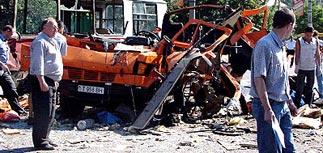 В Приднестровье взорвана маршрутка: 8 убиты, 26 ранены. Среди них россияне