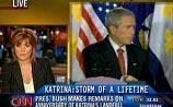 CNN в прямом эфире совместила речь Буша c беседой в туалете