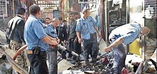 Задержаны подозреваемые во взрыве на рынке в Черкизово