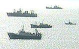 МИД Японии напомнил закон, по которому 39 кораблей вторглись в РФ