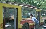 В Тирасполе взорван троллейбус - двое погибших, 10 раненых