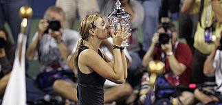 Мария Шарапова выиграла US Open