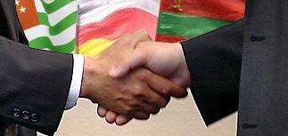 Непризнанные республики признали друг друга в Москве