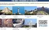 Оглашен список новых Семи чудес света