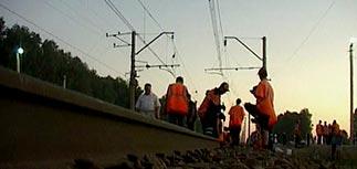 Сошел с рельсов поезд Москва-Петербург