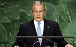Буш рассказал ООН об освобождении мира от разных напастей