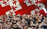Митинг оппозиции в Тбилиси: Саакашвили призвали уйти