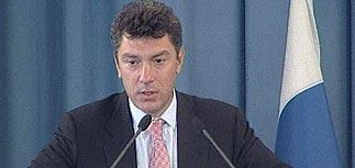 Немцов отказался от борьбы за пост президента в пользу Касьянова