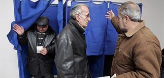 Саакашвили переизбран президентом - данные exit-polls