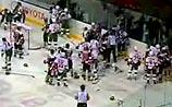 Хоккеисты побили в Казани рекорд НХЛ, устроив беспрецедентную драку (ВИДЕО)
