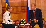 Путин намекнул Тимошенко, что уже решил все вопросы с Ющенко