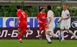Команда Гуса Хиддинка переиграла сербов в товарищеском матче