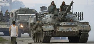 Войска России подбираются к Тбилиси
