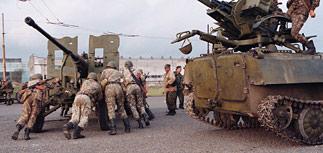 Грузия стягивает артиллерию к границе, заявляют в Цхинвали