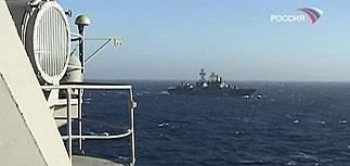 Черноморский флот блокировал Грузию с моря