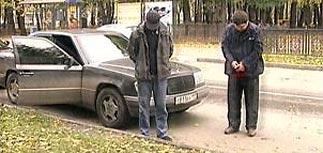 В черном Mercedes Т 811 ВХ 199 задержаны двое подозреваемых в убийстве Ямадаева
