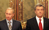 Путин и Ющенко час говорили о газе. Договоренности так и нет