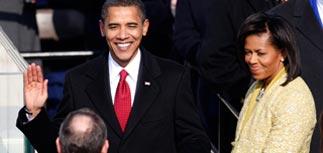 Обама принес присягу. За этим наблюдали миллионы зрителей